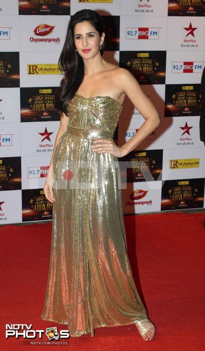 A-list red carpet at Big Star Awards: Katrina Kaif ...