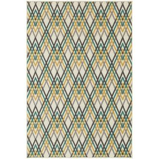 Shop for Argyle Chevron Ivory/ Grey Rug (7'10 x 10'10). Get free shipping at Overstock.com - Your Online Home Decor Outlet Store! Get 5% in rewards with Club O!
