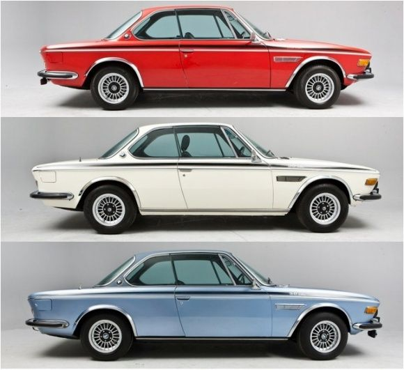 1972 1973 1974 BMW CSL E9 Coupe Collection For Sale