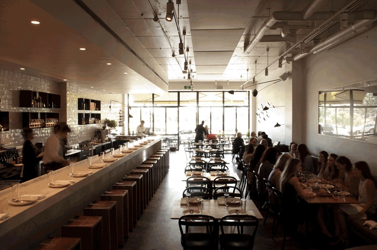 Golden Fields Restaurant Interior, Melbourne