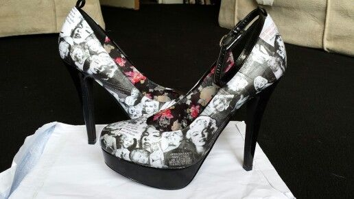 Customised Marilyn Monroe heels