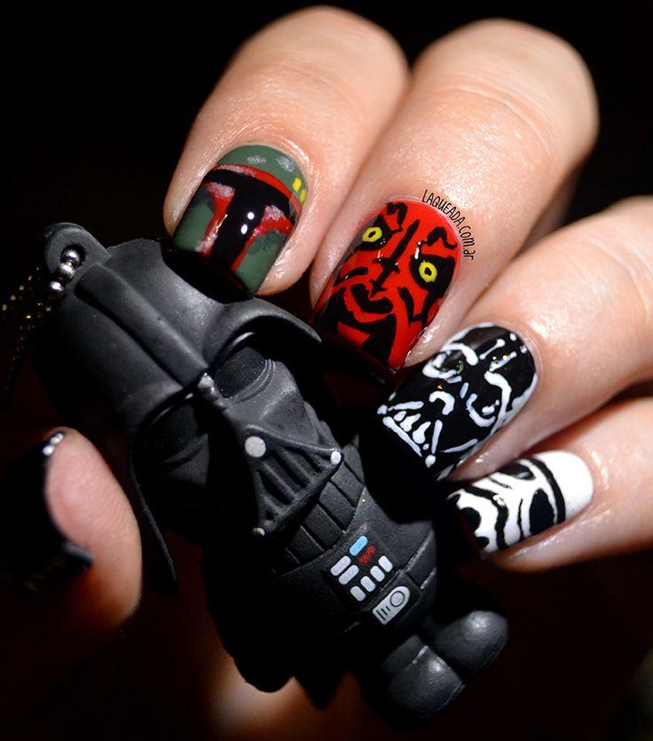 Star Wars Nail Art Ideas: Nail Art, Star Wars