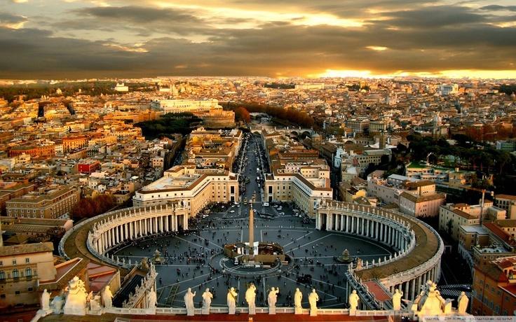 Rome - Piazza St.Pietro