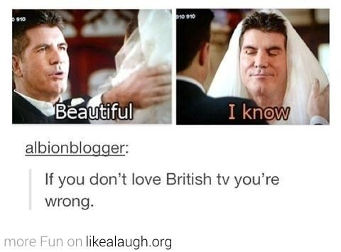 I don't really like Simon Cowell, but this is funny.