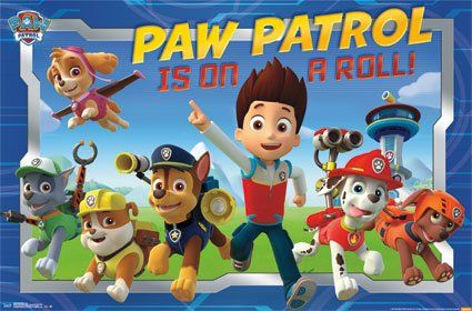 Paw Patrol Poster Group Wall Poster Print, 22 Inches By 34 Inches Paw Patrol Gift Present Bedroom Decor Bedding Colorful Large Stocking Stuffer http://www.amazon.com/dp/B00OQSBTHA/ref=cm_sw_r_pi_dp_XqKsub1VS49D8