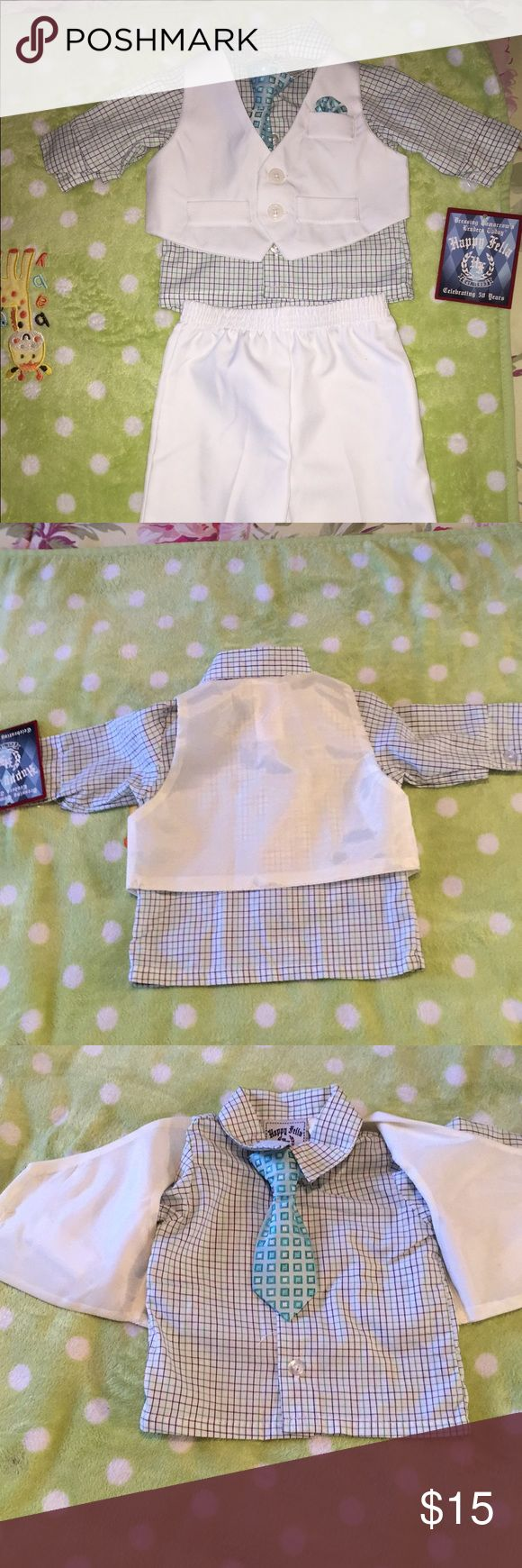 Baby boy formal wear 3-6 months New baby boy 3 piece formal wear. With tags & Other Stories Matching Sets