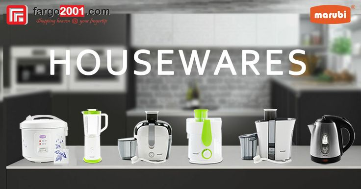 MARUBI Everyday Household Appliances are NOW AVAILABLE Exclusively at Fargo2001.com! http://fargo2001.com/index.php?route=product%2Fsearch&search=marubi