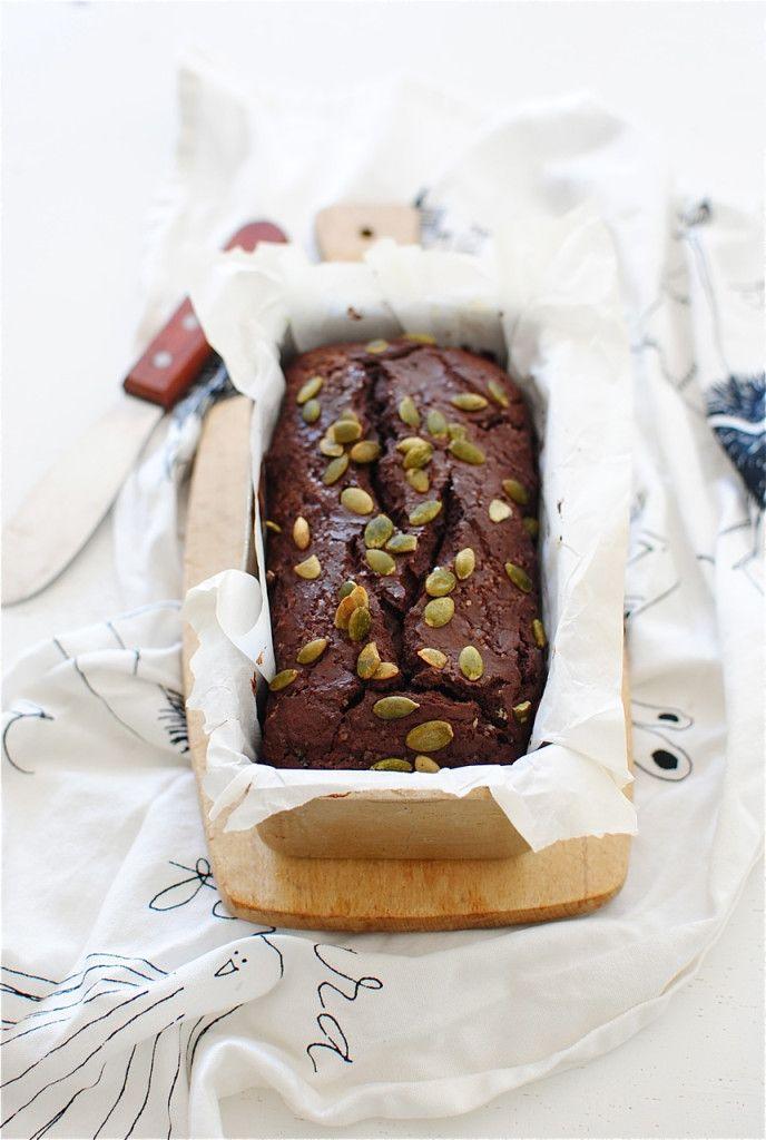 mini chocolate mascarpone loaf