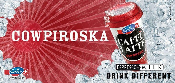 #copywriter Cowpiroska, Muca Libre, Muuujito, Muca Colada: Cowpiroska Muca Libre Muuujto Muca Colada. Espresso + Milk Drink… #copywriting