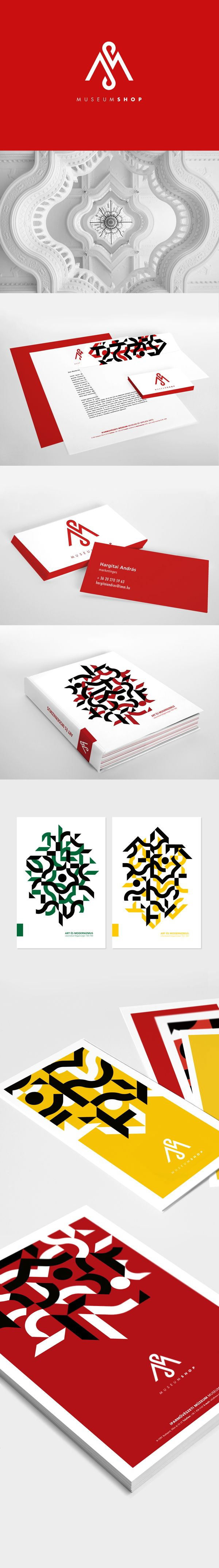 Museum Shop - Museum of Applied Arts by Monika Kovacs, via Behance