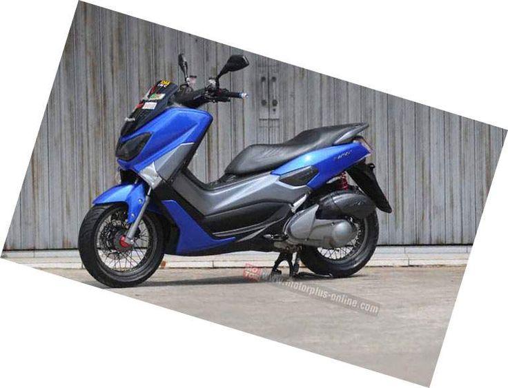 Modifikasi Yamaha NMAX Jari-Jari Tapak Lebar, Pakai tromol Mio dan Honda Vario…