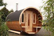 Saunafass 280 montiert bei Gartenhaus2000 kaufen