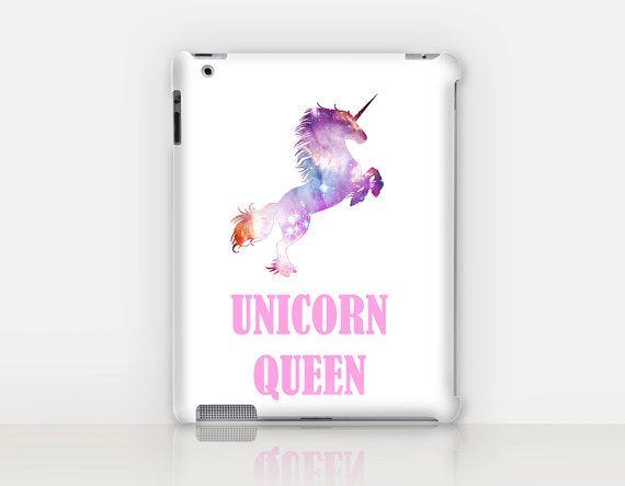 Unicorn Queen iPad Case For  iPad 2 iPad 3 iPad 4 and by CRCases