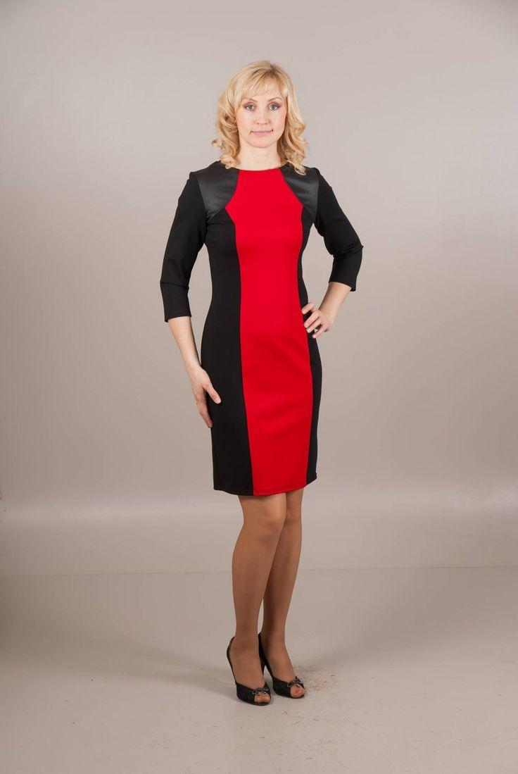 Стильные женские платья с напуском
