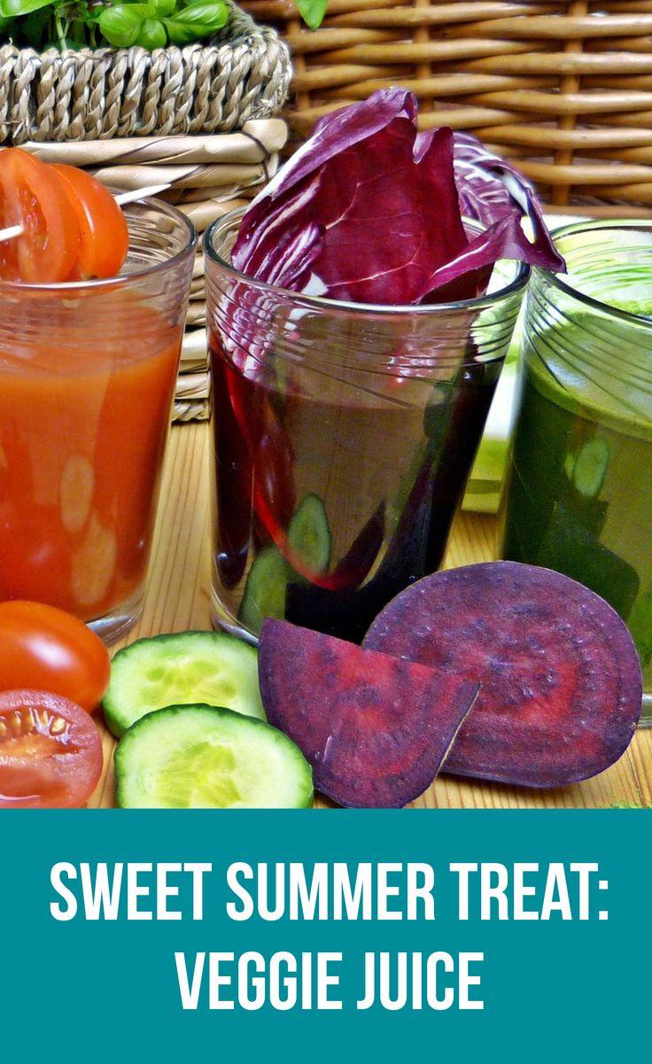 Sweet Summer Treats | Sweet Veggie Juice | Healthy Belly Happy Mind