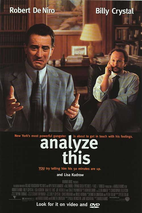 Analyze This - Robert de Niro and Billy Crystal