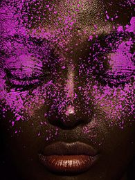 Editorial Beauty Photography: Colors Purple, Famous Fashion Photographers, Beautiful Inspiration, Faces Paintings, Editorial Beautiful, Beautiful Faces, Fashion Photography, Beautiful Photography, Beautiful Things