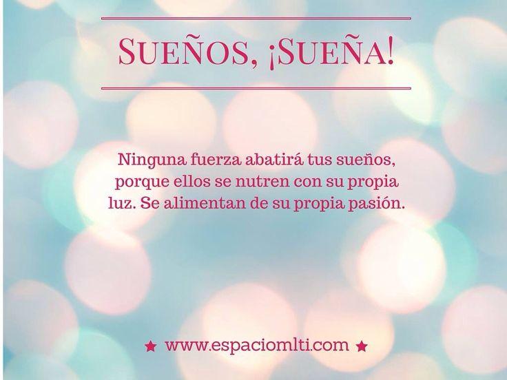 #FelizLunes comenzamos con esta hermosa frase de: Atahualpa Yupanqui #happyday #sueña #dreams www.espaciomlti.com