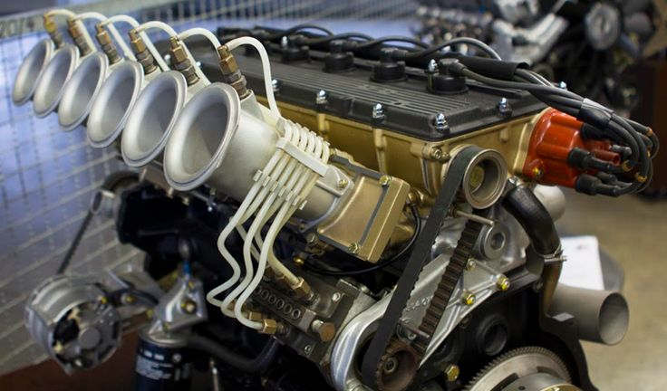 BMW M1 Procar race engine M88/1. Built in 1979 this six-cylinder inline engine generated 470hp at 9000rpm.