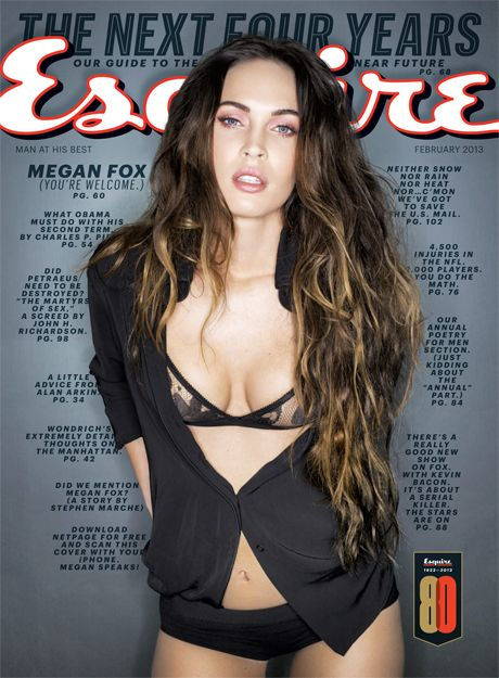 """Megan Fox Saves Herself - Interesting article with the """"Fox""""."""