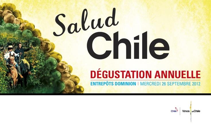 #MtlOnABudget Dégustation de Vins du Chili gratuite 26/09/12