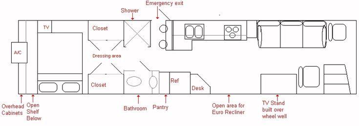 31 Best Skoolie RV Sample Floor Plans