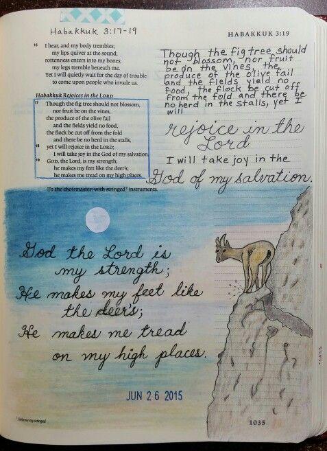 Habakkuk 3:17-19 by Paula-Kay Bourland