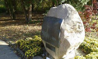 Grochów i okolice: Obelisk w Parku Skaryszewskim