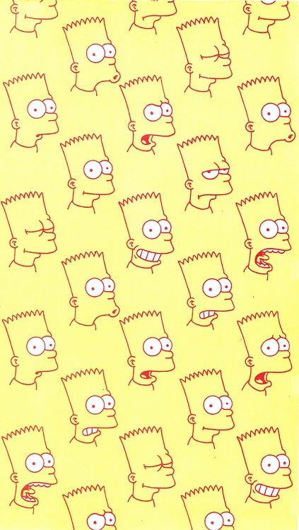Bart Simpson wallpaper for iPhone