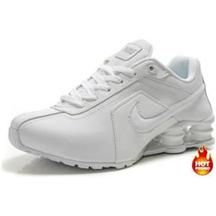 www.asneakers4u.com Womens Nike Shox R4 Full White