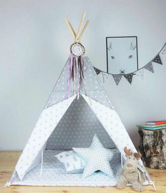 die besten 25 kinder indoor zelte ideen auf pinterest teepee kinder kinderfestungen und. Black Bedroom Furniture Sets. Home Design Ideas