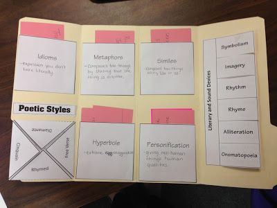 Member on my 5th grade teams TpT product!! FREEBIES!! used it for test prep!!! Figurative Language Lap Book!