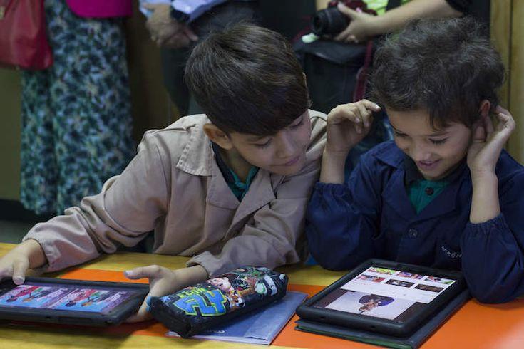 apps-samsung La nueva sala de clases: Con dispositivos vamos aprendiendo