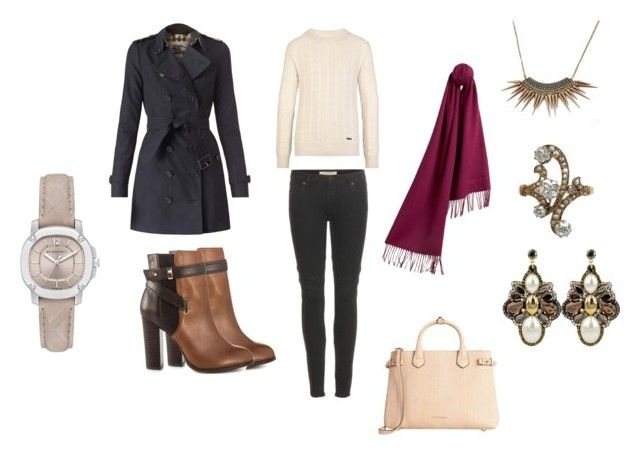 """""""The Burberry Festive November Collection"""" by samyangelo on Polyvore featuring moda, Burberry, Claudia Baldazzi, ALDO, November, fashionset y fall2015"""