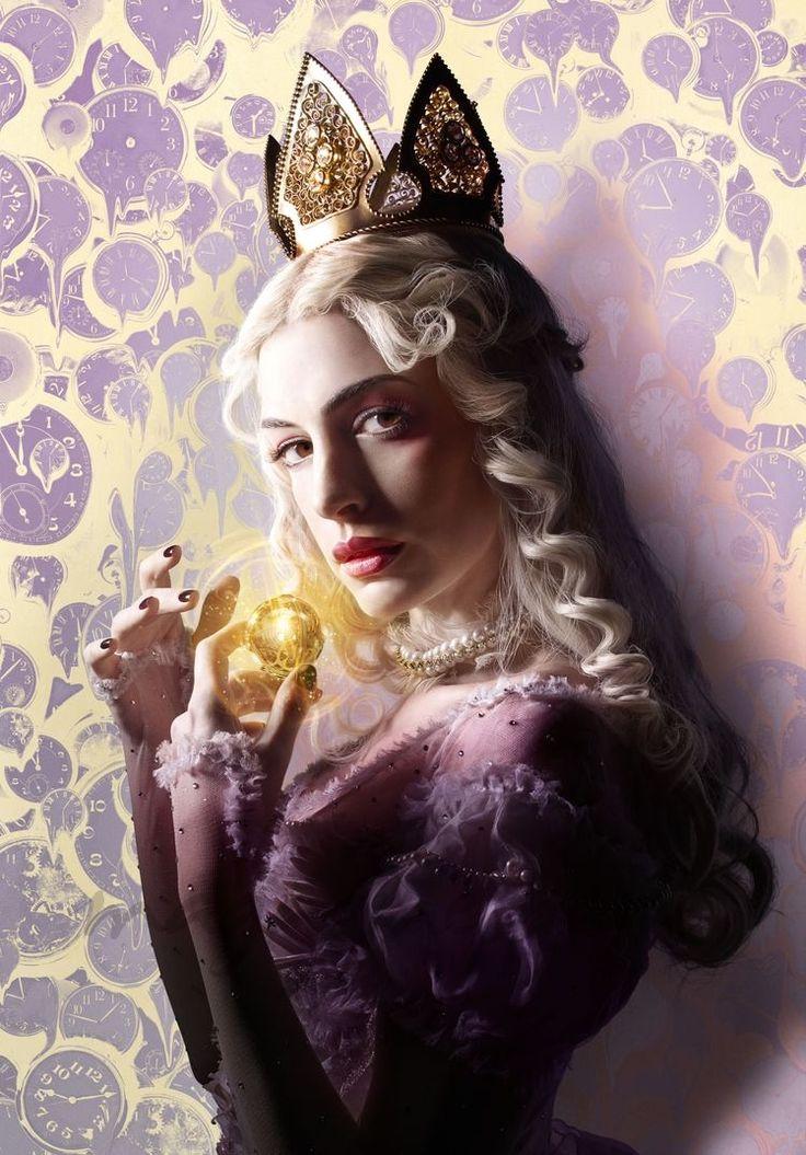 Anne Hathaway- Mirana la Reina Blanca- Alicia a través del espejo-.