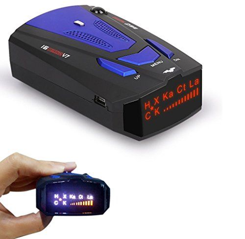 #Radar #Detector, #Petcaree #High #Performance #V7 #Police #Radar #Laser #Detectors for #Cars with #Voice #Alert and #Car #Speed #Alarm #System with #360 #Degree #Detection ❶ Extreme Range Super heterodyne technology, with super-fast sweep circuitry, provides extra #detection range and the best possible advance warning to even the fastest #radar guns Detects Ku Band #radar gun currently being used in Europe Extreme Range Super heterodyne technology, with super-fast sweep ci