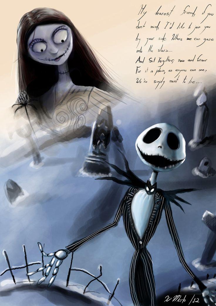 Jack and Sally - The Nightmare Before Christmas