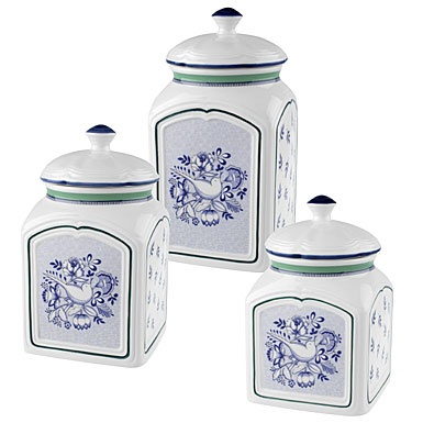 159 best images about kitchen canisters and matching for Matching kitchen sets