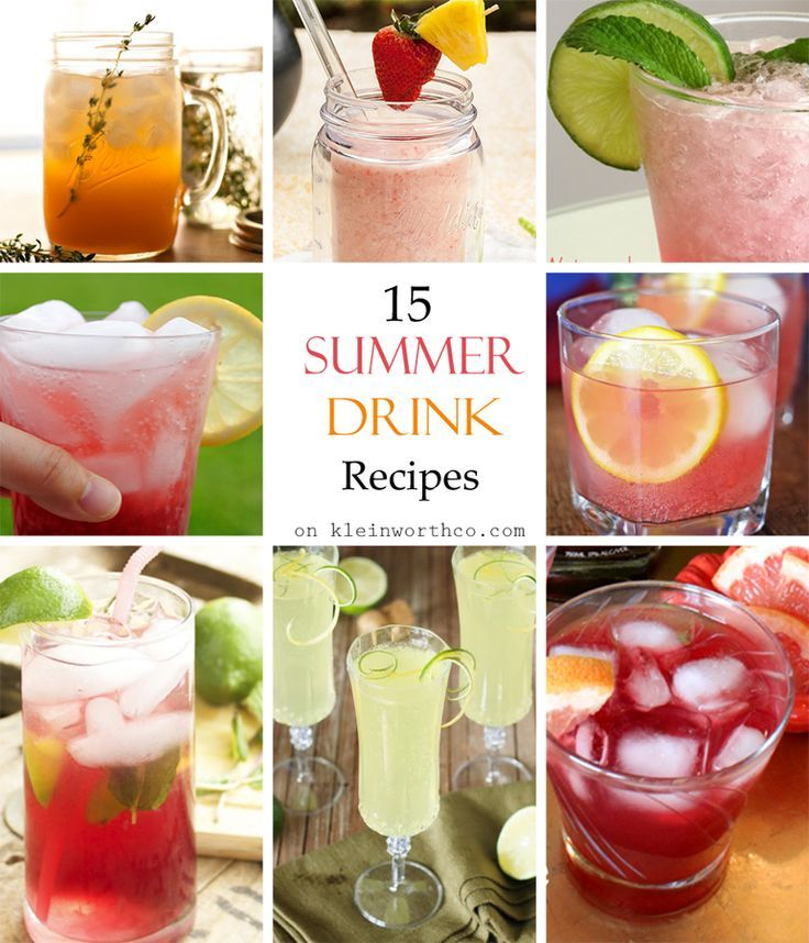 123 best images about recipes drinks smoothies on for Refreshing alcoholic drink recipes