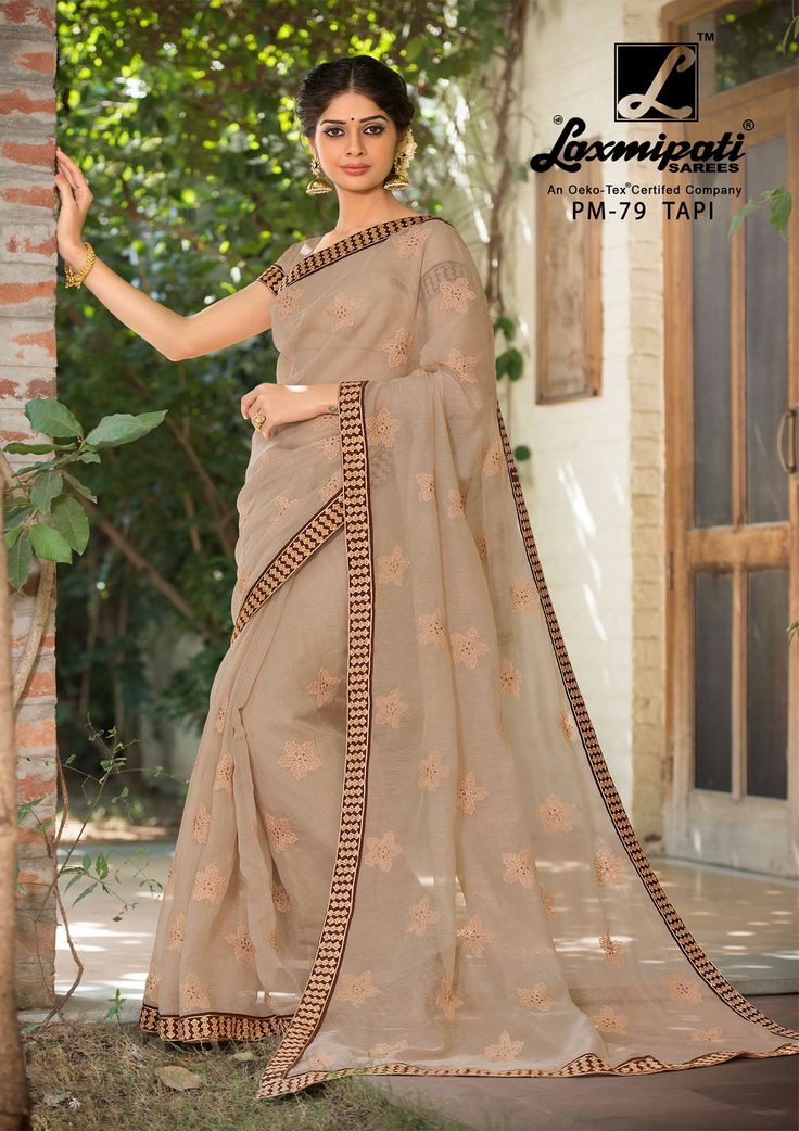 Buy Our Laxmipati Rust Brown Cotton Net #Embroidery_Saree with Fancy Pattern Work Rust Brown Blouse along with Lace Border for your special occasion. #Catalogue- #SABRANG #DesignNumber- SABRANG 79  #Price - ₹ 3158.00  #Colorfulsarees #Cashondelivery #Orderonline #Freedelivery #Freeshipping #Freehomedelivery #Manufacturer #Retailer #Ecommerce #Onlineservices #Festival #Worldwidedelivery #Shopnow #Happyshopping #India #SABRANG0217 #Oekotex #Couture #Ethnicwear #Laxmipatisarees