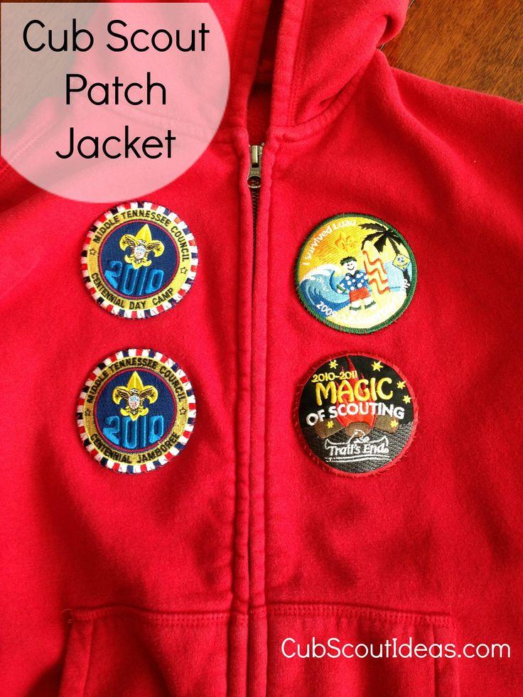 Cub Scout Uniform Patch Placement - Temporary Patches - Cub Scout Ideas