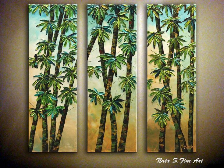"Buy ""Dancing Bamboo"" Triptych, Abstract Chinese Bamboo Painting Feng Shui Good Luck Bamboo Modern Painting, Acrylic painting by Nataliya Stupak on Artfinder. Discover thousands of other original paintings, prints, sculptures and photography from independent artists."
