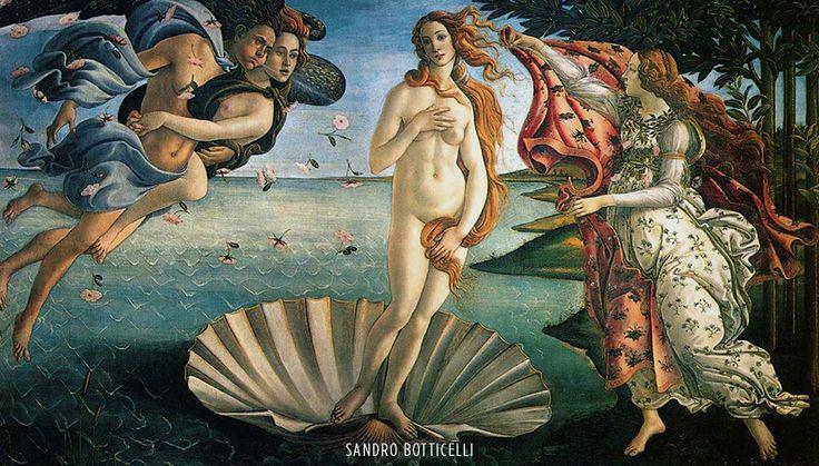 O Nascimento de Vênus, Sandro Botticelli. O Renascimento foi um dos mais importantes movimentos culturais que ocorreu na Europa entre os séculos XIV e XVI. Entre os principais artistas deste período, podemos citar: Leonardo da Vinci, Michelangelo, Rafael, Donatello, Botticelli, entre outros...
