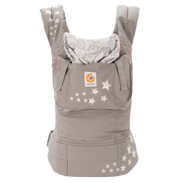 £56.99 WORLDWIDE FREE SHIPPING  New ErgoBaby Carrier with Box and Manual GALAXY GREY