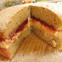 Vegan Victoria Sponge Cake Recipe