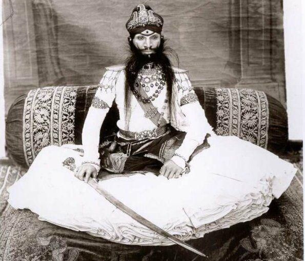 HH Maharao Raja Raghubir Singh Sahib Bahadur of Bundi (1869-1927)