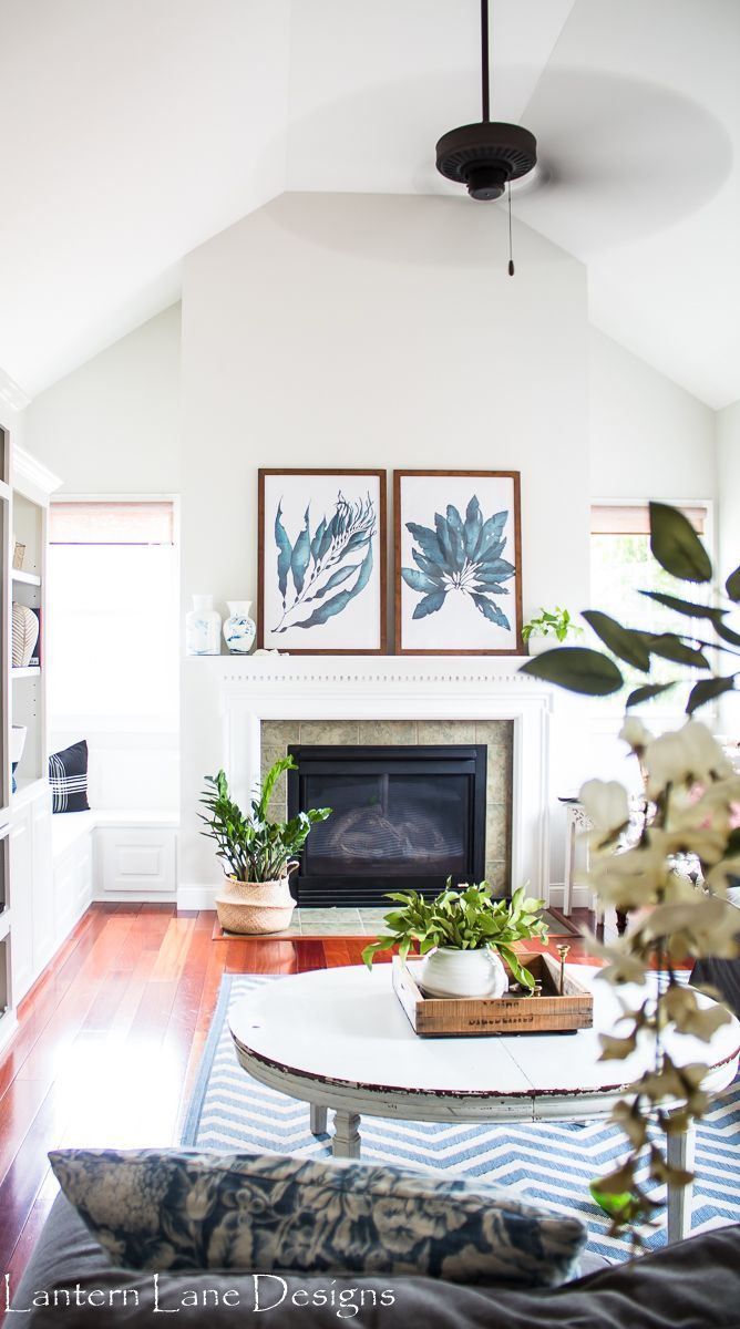 Budget Friendly Mantel Decor: Inexpensive Way To Decorate Your Mantel Using  Engineered Prints