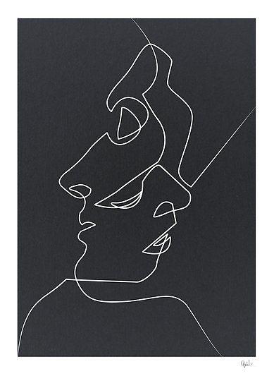 Close Black Poster   – Art