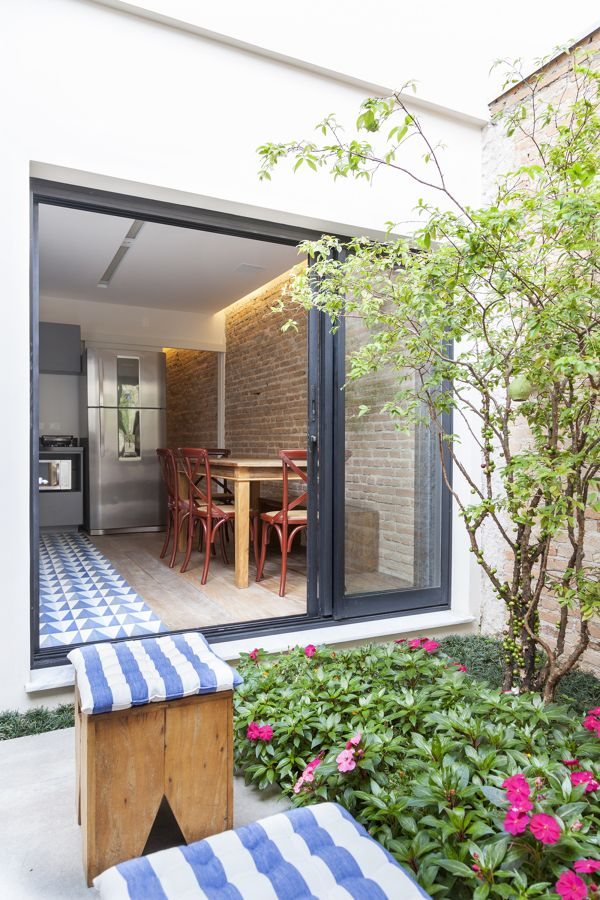 cozinha aberta para o jardim / Cozinhas abertas para o jardim #hogarhabitissimo