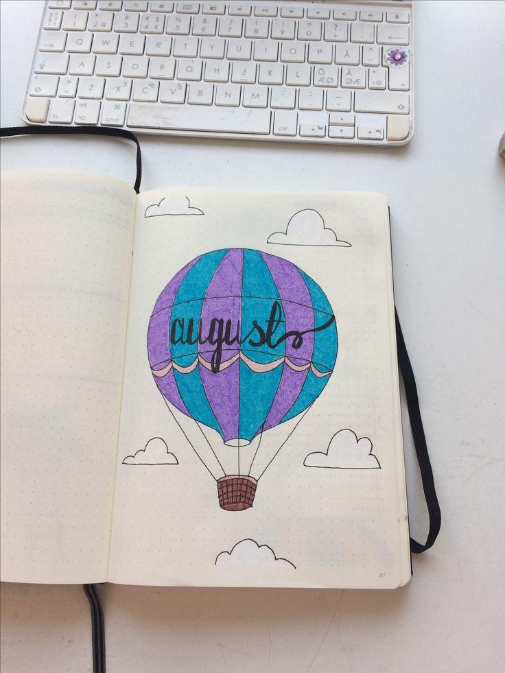 August, Bullet Journal